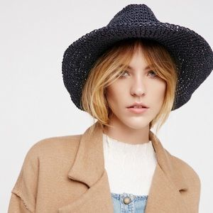 Free People 'Mellow Mood' Straw Hat